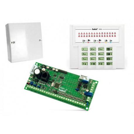 Centrala alarmowa VERSA 10, manipulator VERSA-LED-GR