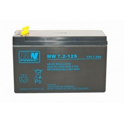 Akumulator 12V 7 Ah MW AGM MWPower 6-9 lat