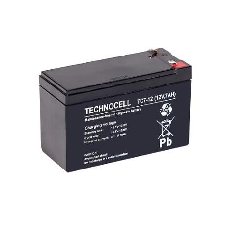 TC 7 - 12 Akumulator 12V 7 Ah Technocell
