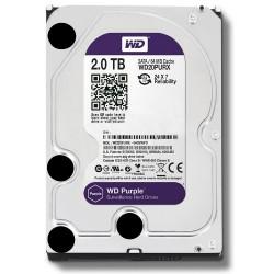 Dysk HDD SATA 2000 GB WD20PURX WD Purple do DVR pracy ciągłej