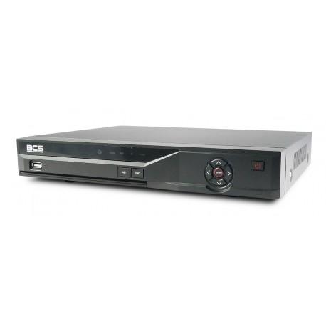 Rejestrator HD-CVI/analog 4 kanałowy 720/1080p z opcją trybrydy BCS-CVR0401-III